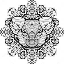 Kleurplaten Voor Volwassenen Google Zoeken Kleurplaten Koala