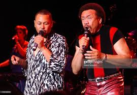 ralph-johnson-and-maurice-white-of-earth-wind-fire (With images ...