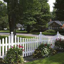 Cape Cod Vinyl Picket Fence Concave Avinylfence Com