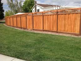 Con Common Board On Board With Arched Piano Key Lattice Wooden Fence Gate Backyard Fences Garden Fence Panels