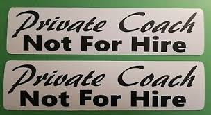 Not For Hire Magnetic Signs 3 12 Black On Yellow Free Shipping 2 Business Signs Business Industrial Sidra Hospital