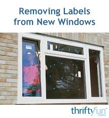 removing labels from new windows