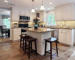 color countertop with white cabinets