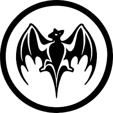 Bacardi Bat Decal Sticker Bacardi Bat Decal Thriftysigns