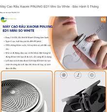 Máy Cạo Râu Xiaomi PINJING ED1 Mini So White - Bảo Hành 6 Tháng - Shop thế  Giới Điện Máy