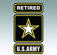 Car Window Uv Protected Vinyl Decal Sticker Military Army Retired
