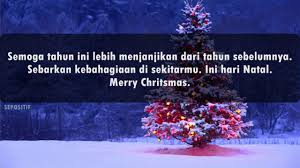 kata kata ucapan selamat hari natal merry christmas