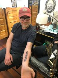 """Adam Savage on Twitter: """"I just got my first tattoo! Story and ..."""