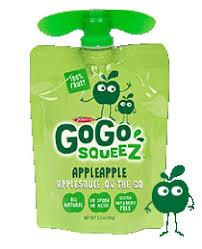gogo squeez applesauce pouches recalled