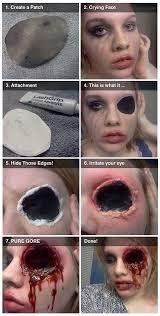 scary makeup tutorials easyday