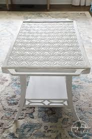 diy tiled table top so easy to do