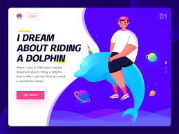 unicorn dolphin by dirtykid on dribbble