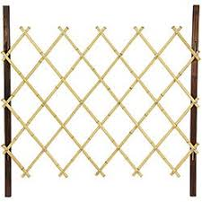 Shop Handmade Natural Diamond Bamboo 3 Fence Overstock 6641690