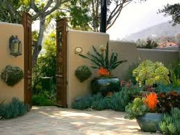 ideas for using large garden containers