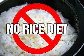 No rice challenge