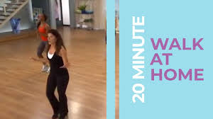20 minute walk at home exercise