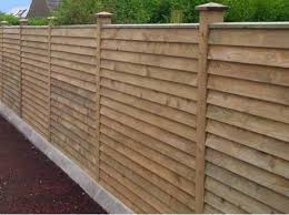 Fence Panels And Posts For Style And Security In Coleraine And Ballymoney Front Yard Fence Horizontal Fence Fence Landscaping