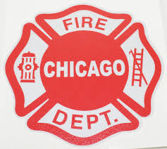 Chicago Fire Department Window Decal Chicago Fire And Cop Shop