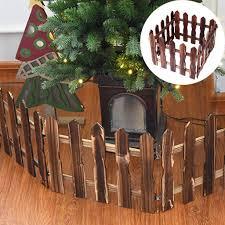 Nlgtoy 1 2m Diy Garden Kit Picket Fence Miniature Dollhouse Christmas Tree Decoration Best Birthday For Boys And Girls Sledding Outdoor Recreation