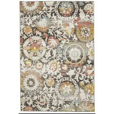 Mohawk Home Jeslynn 8 X 10 Multi Indoor Floral Botanical Area Rug In The Rugs Department At Lowes Com