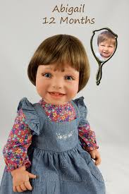 Doll in the Looking Glass - Toddler and Baby Dolls That Look Real created  for Abigail | Child doll, Your child, Dolls