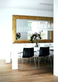 large dining room wall decor mirrors
