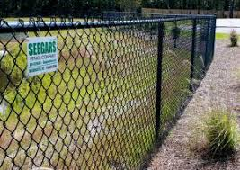 Durham Seegars Fence Company Privacy Chain Link Fence Installation