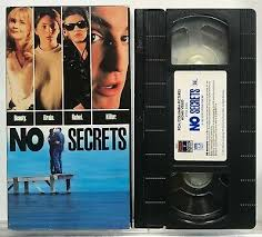 No Secrets (VHS, 1991) Amy Locane, Adam Coleman Howard *Very Good ...