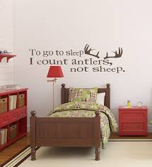 Wall Decals For Nursery To Go To Sleep I Count Antlers Not Sheep