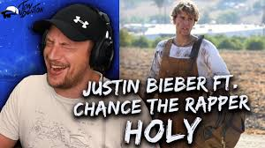 Justin Bieber - Holy ft. Chance The Rapper REACTION!!! - YouTube