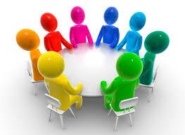 Multi-cultural meeting