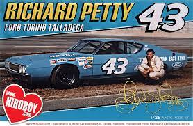 1 25 Richard Petty Ford Torino Talladega Model Kit Pol896 12 Polar Lights