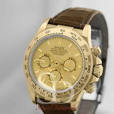 rolex yellow gold daytona champagne