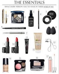 basic makeup kit list for beginners