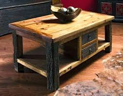 rustic coffee table sets markberge co