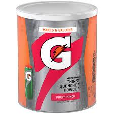 gatorade thirst quencher fruit punch