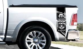 Product Custom Side Tailgate Truck Bed Box Decal Sticker Kit For Dodge Ram 1500 2500