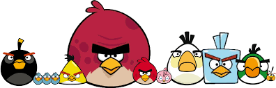 Download Angry Birds - Angry Birds Bomb Classic - Full Size PNG Image -  PNGkit