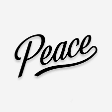 Peace Vinyl Decal Bound By Blood