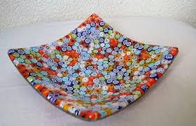 mar ingross murano glass plates