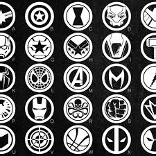 Marvel Avengers Vinyl Decals 26 To Choose From Stickers Etsy Vinyl Decals Marvel Avengers Vinyl Decal Stickers