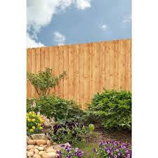 Unbranded 3 4 In X 6 In X 6 Ft Alta Premium Treated Dog Ear Fence Picket 63099 The Home Depot