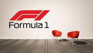 Formula 1 F1 Wall Decal Sport Logo Vinyl Home Luxury Cars Racing Home Garden Decor Decals Stickers Vinyl Art