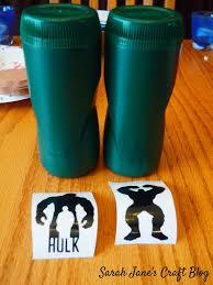 Sarah Jane S Craft Blog Hulk Canisters
