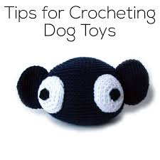 guide to crocheting dog toys shiny