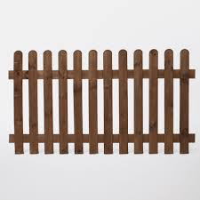 Blooma Luiro Picket Fence W 1 8m H 1m Departments Diy At B Q