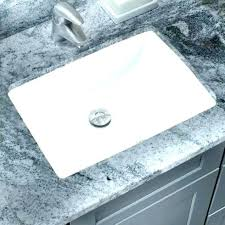 replace undermount bathroom sink