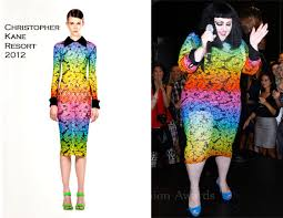 beth ditto in christopher kane mac