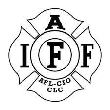 4 Iaff Die Cut New Vinyl Decal Sticker Fire Fighter Firefighter Sticker Logo Ebay