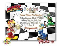 Invitacion Digital Personalizada De Mickey Mouse Virtual